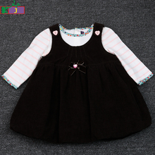 wholesale newborn baby clothes set long sleeve cute 1 year old baby girl clothes