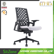 New Mode BIFMA Plastic Back Mesh Chair with 3D adjustable Armrest GT-001B2