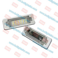 led license plate lamp,car led number light,Golf 4/Golf 5 led license