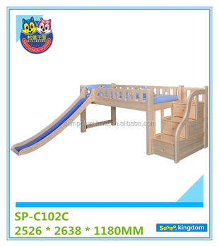 Modern cheap bunk bed price,children wood Bunk beds For Bedroom