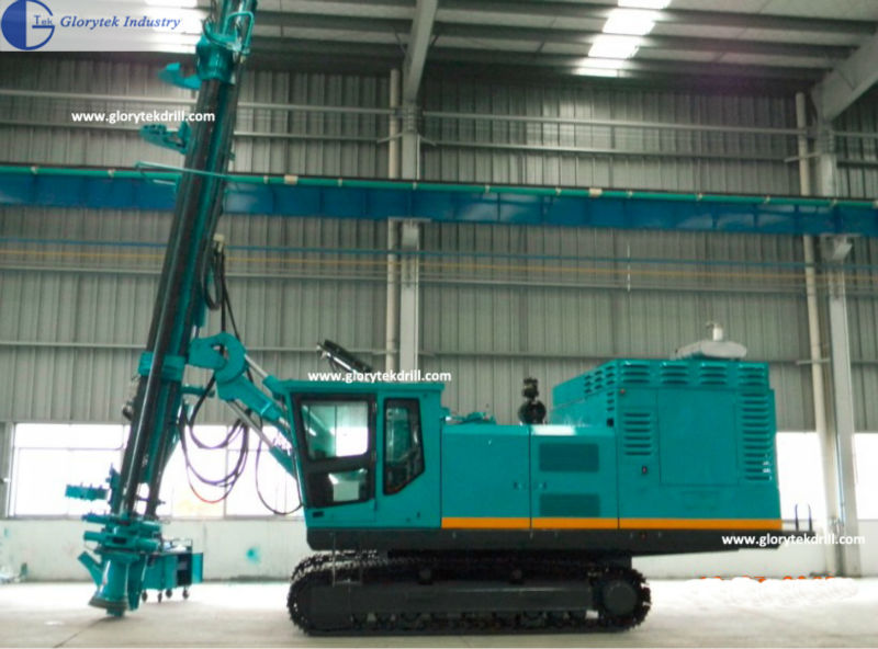 DE165 air compressor built-in mining quarry drill