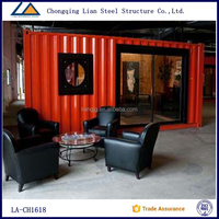 Prebuilt Portable prefabricated houses container cost from china supplier