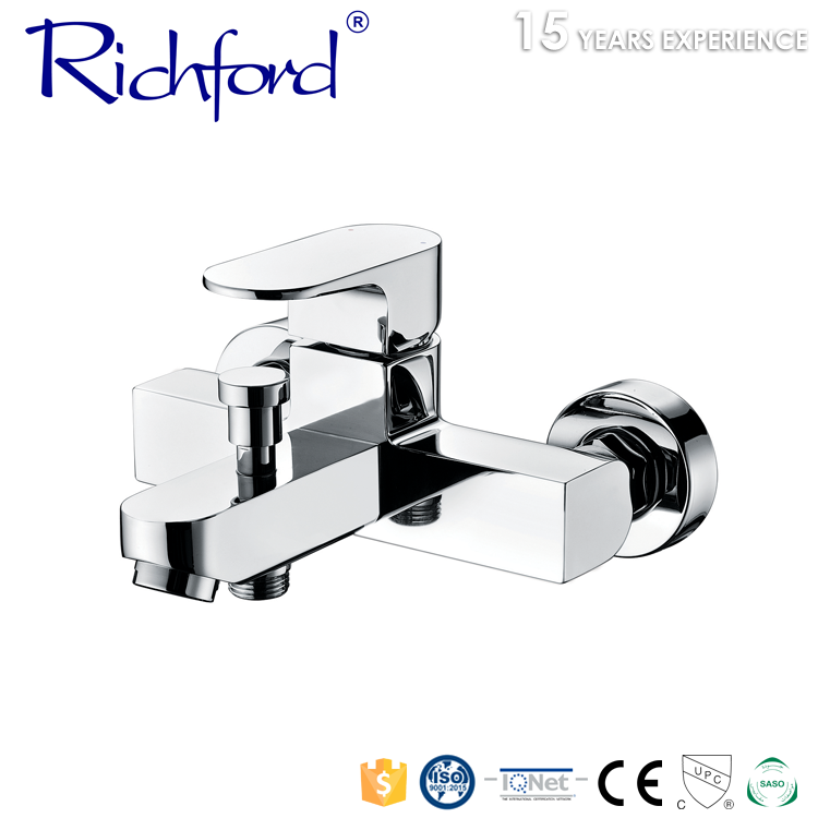 Stainless steel sanitary ware Ceramic faucet cartridge wall mount bathroom sink faucet