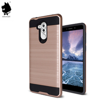 high quality printed best buy 360 degree hard pc tpu material brushed mobile smart phone case for Huawei mate 9 lite