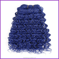 Fast Shipping Cheap Synthetic Hair Extensions ,deep wave hair weave