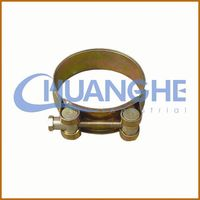 made in china water gas pipe hose clamps