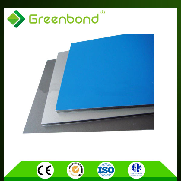 Greenbond types of advertising boards Aluminum Composite Panels so skilled with 14 years experience