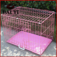 Pet Dog Cat Cage Crate Kennel