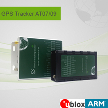 Build-in li-polymer battery taxi gps tracking device for vehicles which Charged by exterior DC 9 - 60v