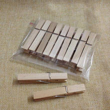 Big size 72mm Laundry Wooden Clothes Pins Pegs Hanging Clips Clothespin
