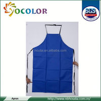 2015 Best quality 100% Cotton Kitchen Cooking Aprons for preventing dirty