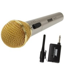 Handheld Best Wireless Microphone for Karaoke with Receiver & Antenna