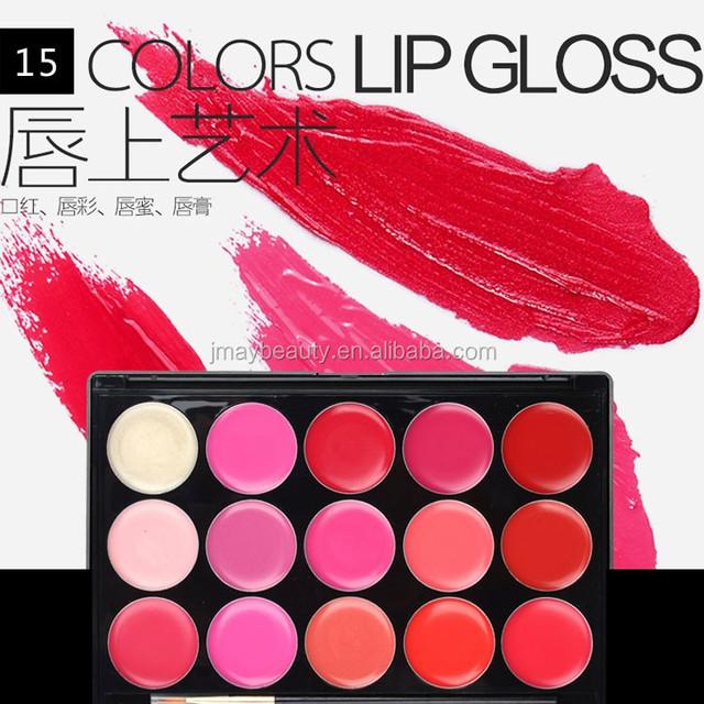 2018 New Design Private Label Makeup lipsticks Palette15 Colors
