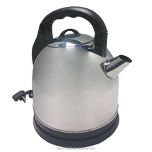 china manufacturing 4L SS electric whistling kettle