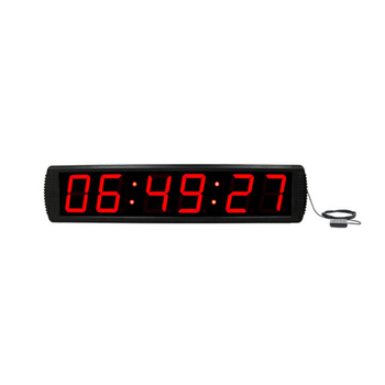 [Ganxin]4'' led clock with synchronization (network) and gps correction, cronometro con gps