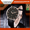 2016 Top Factory Price Quartz Classical Leather Watches Men
