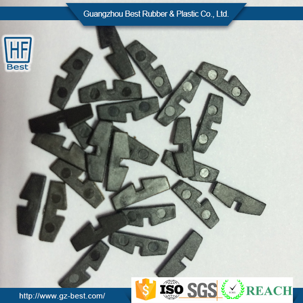 supply non standard size Black or nature PEEK mould plastic product