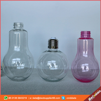 Light Bulb Bottle Plastic 100ml 150ml 230ml food & beverage