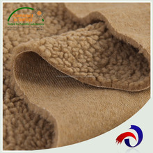 China Suppliers Hot Sale 100 Polyester Berber Fleece Sherpa Fabric for Hoodie