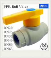 DN25 PPR Ball Valve For Water Piping Systems