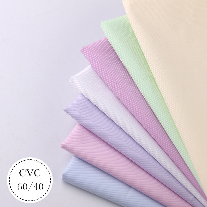 China supplier woven polyester cotton fabric for uniform & shirt