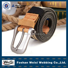 Fashion Casual Military Factory Price Canvas Sport Belt