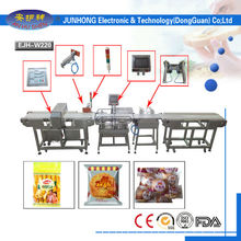 packing machine, metal detector and weight inspection machine