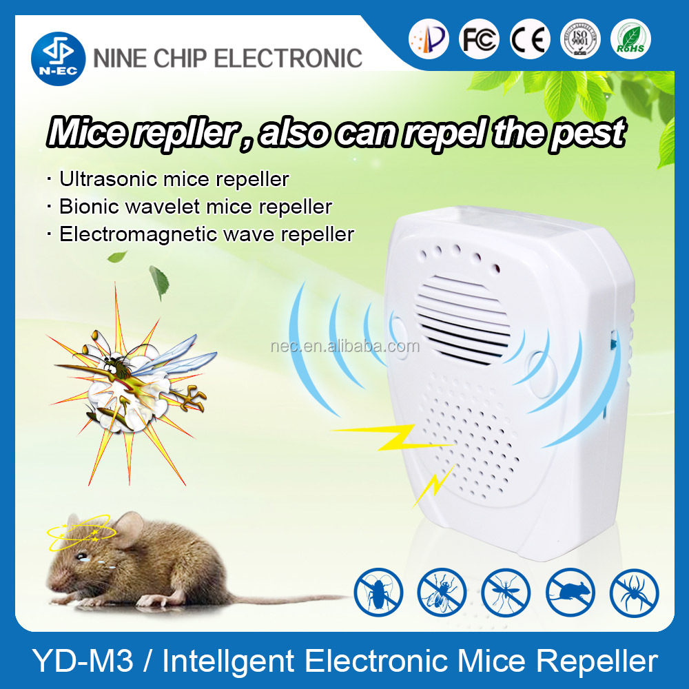 Eco-friendly ultrasonic rat repeller to keep your house tidy