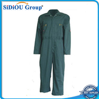 men designer rubber 2 piece green overalls