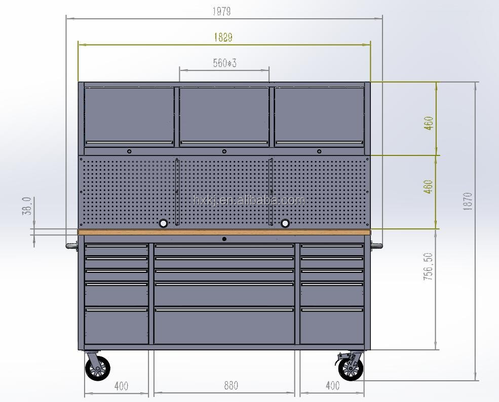 all steel 72 in w x 74 in h x 20 in d garage storage cabinets work table in ss 5 piece. Black Bedroom Furniture Sets. Home Design Ideas