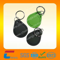 2014 Custom RFID Key fob/ Waterproof RFID Key fob/Epoxy RFID Key fob with Ring