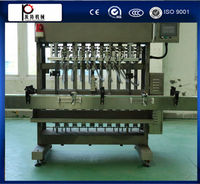 CE standard high speed automatic liquid soap bottle filling line