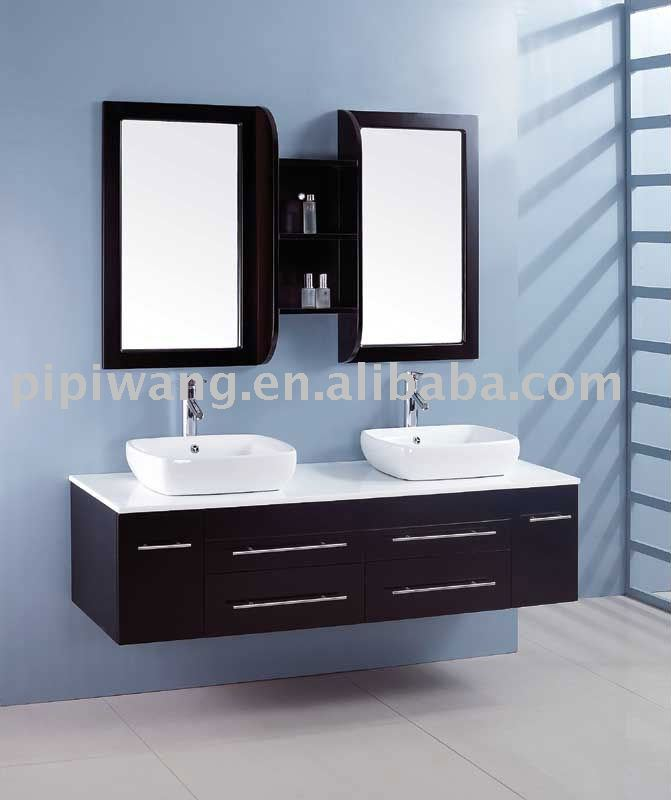 moderne 150 cm birke massivholz bad waschbeckenunterschrank kabinett des badezimmers produkt id. Black Bedroom Furniture Sets. Home Design Ideas