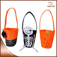 Halloween trick or treat Lovely pumpkin and spider children's candy bag