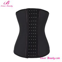 Custom Logo Accept Women Latex Reducing Slimming Waist Trainer Corset