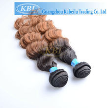 kabeilu new coming two color virgin brazilian hair, brazilian hair extensions