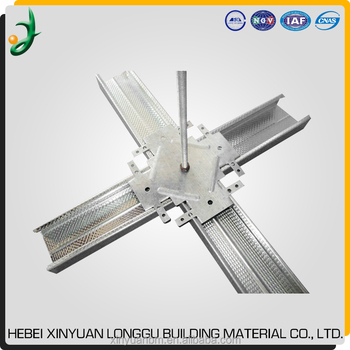 Higher Quality Galvanized Light Steel Keel /Suspended Ceiling Furring Channel /Main Channel