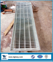 High quality hot dip galvanized steel grating ditch cover/drainage ditch cover