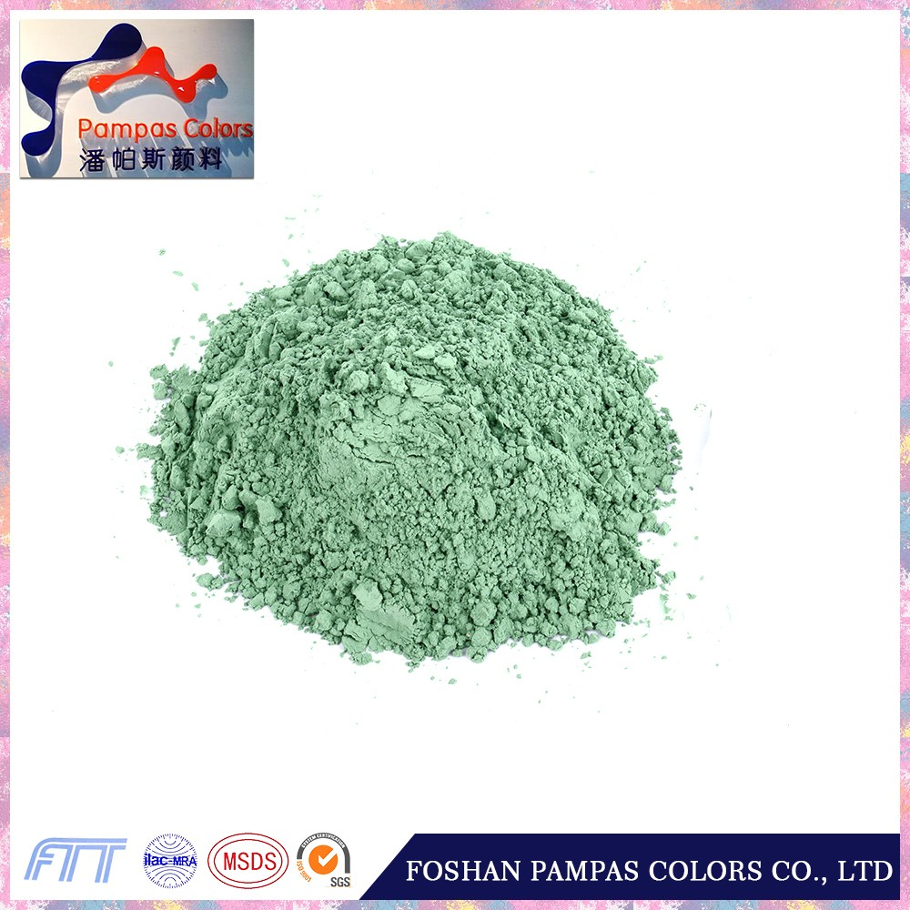 Foshan Good PriceGreen Glazing Pigment Powder for Tile and Porcelain