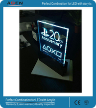 Custom Made Size is available new design acrylic led signboard
