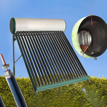 Pressurized Solar Water Heater with Solar Vacuum Tubes Price