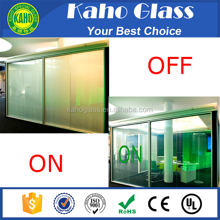 Good heat resistance Reasonable price switchable smart glass/dimming glass for window