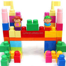 Manufactory supply large toy plastic building blocks for kids