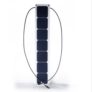 23w flexible solar panel connected with linear solar photovoltaic panels