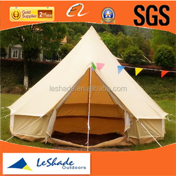 [ Leshade ] 4M cotton canvas bell tent marquee tent to live in