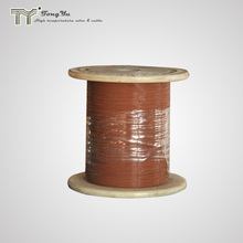 Teflon PTFE insulated silver plated copper coiled motor wire