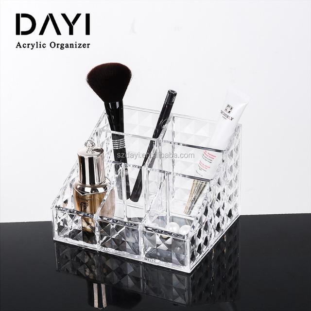 Da Yi Clear Crystal Plastic Storage Box Acrylic Organizer Makeup