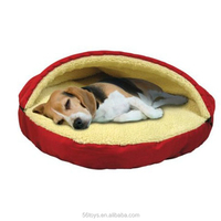 Wholesale Plush Dog Bed Popular Pet Product stuffed pet cave for Export