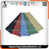 Alibaba Top Supplier High Quality Sand Coated Metal Roofing Tile, Galvalume Roof Tile