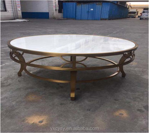 Modern Marble top round dining table
